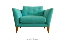 Oriel armchair from Rume (rume.co.uk)