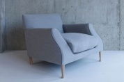 Lucas armchair designed by Matthew Hilton at SCP.co.uk