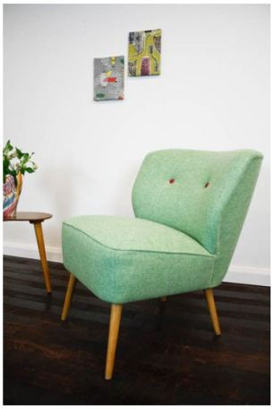 1950s cocktail chair on ebay (ebay.co.uk)