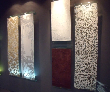 Japanese wallcoverings and panels by Biden Design