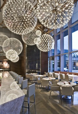 Arla restaurant Toronto designed by Moooi