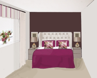 Eyebrook Design bedroom scheme