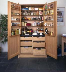 Larder pantry cupboard