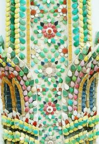 wat phra kaew temple mosaic 2